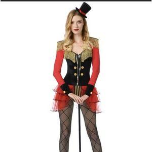 Ring Master Mistress Halloween Spirit Bodysuit